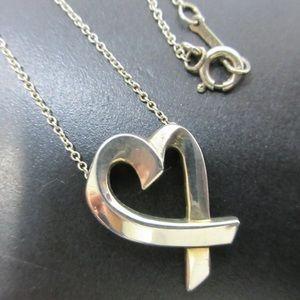 Authentic Tiffany & co loving heart
